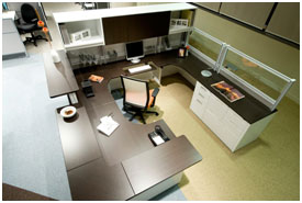 Example custom office desk
